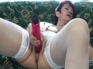 Old slut video - Old slut needs hard cock in her ass