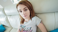 Hot Young Petite Teen Fucked By Uber Driver POV