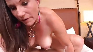 Fuck This Flexible Lactating Mature and Let Her Ride You