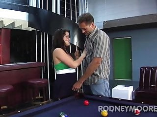 Contraceptive oral tables - Hairy and messy oral pool table billiards banging kaci starr