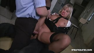 amazingly hot prison warden is both dominant and submissive