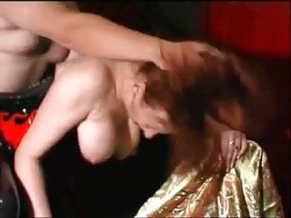 Corset fetish bondage transsexual Matue redhead in fetish corset gets fucked