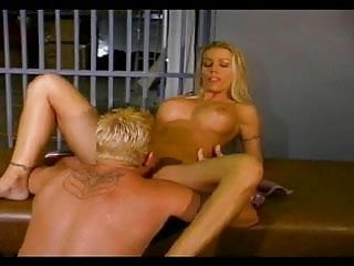 Bottom boys in the jail house Blonde chick banged in the jail