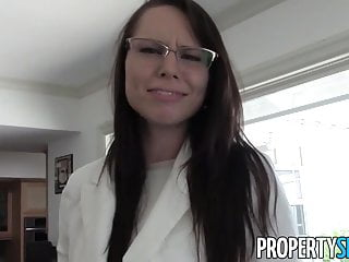 Sexual motivation - Propertysex - young motivated real estate agent fucks client