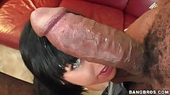 Sadie West vs Huge Black Cock