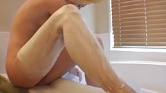 Watching Her Shave Turns Me On that have a cumshot sex