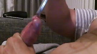 10mm sound in my cock