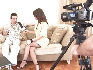 Ebony movies sexy Sexy reporter got nailed by movie director