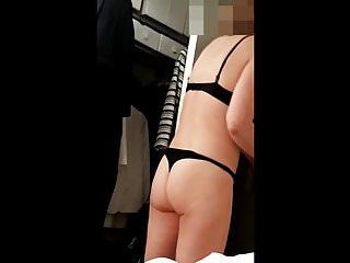 Milf girls in underwear Milf removing underwear in her bedroom spycam