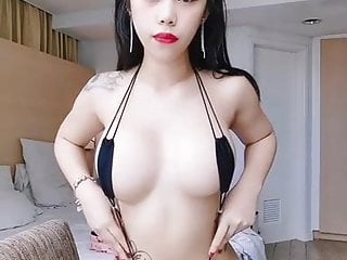 Joya monteiro bikini model Sexy asian girl in micro bikini model friends