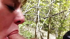 cheating married slut fucks in woods