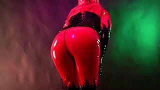 Sexual Female Domination Latex Mistress Arya Grander
