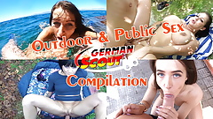 GERMAN SCOUT - OUTDOOR PUBLIC SEX AT PICKUP COMPILATION