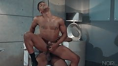 Interracial Gay Scene - HOT