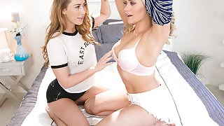 Carter Cruise saves Mia Malkova from the bully