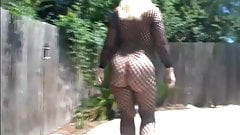 Beauty sexy  ass walking.