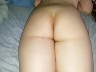 Gay cumin Cumin on her ass
