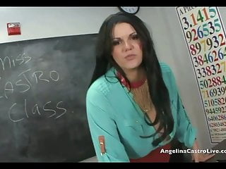 Couples sex class video - Angelina castro jerk off instructions in class