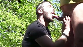 Look and learn. Italian dedication and passion to sucking a