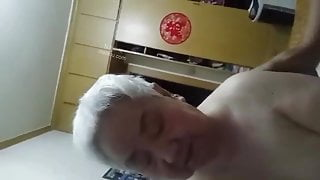 chinese old couple