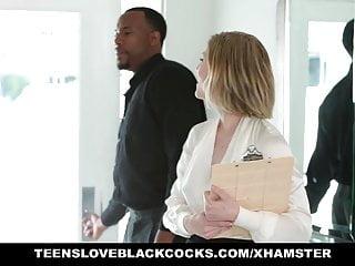 Guys love black cock Teens love black cocks-blonde takes black cock