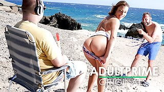 Anal Beach Sex for Blind Man at AdultPrime