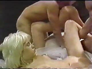 Bareback gay orgy Vintage bareback hemorphidite orgy with cum shots