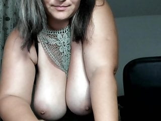 Big milf slutload - Big milf boobs masturbate in cam