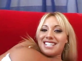 Blonde does anal Blonde does interracial dp with anal cream pie.