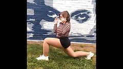 Sexy BBW teen in Pantyhose