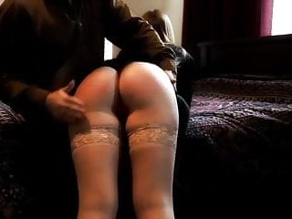 Men getting spanked by girls - Getting spanked by a 50 year old man by buttslutgirl