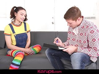 Karups large amateurs Karups - liv wild gets latina pussy banged by tutor