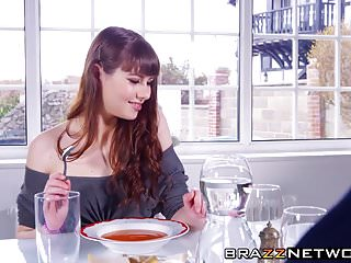 Sperm kill rival human - Brunette cutie luna rival is eager to ride a meaty rod