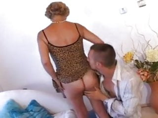 Vegas strip attractions - Attractive granny with glasses fucks her toy boy