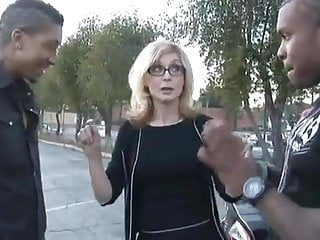 Nina hartleys guide to better cunnilingus Milf nina hartley takes two black cocks