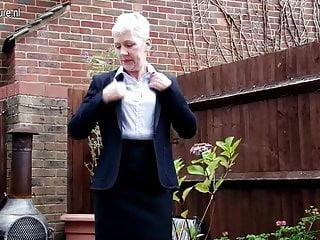 Free naughty gardening milfs - Naughty british mature lady masturbating in garden