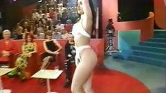 MARIA SANCHEZ STRIPTEASE IN TV SHOW