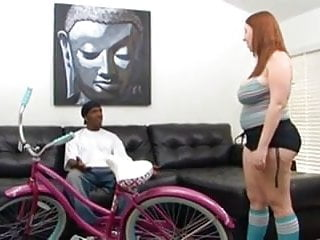 Gay bear pounding Red head pawg felicia clover gets pounded by long black dick