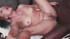My Horny 50 yo Mommy Sylvia gets fucked in her ass by BBC