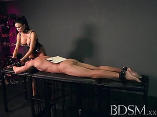 Boy and mother xxx Bdsm xxx slave boy gets hardcore treatment by dom
