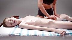 Seducente massaggio sensuale