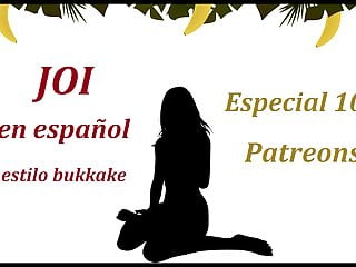 100 free hentai video clips Brutal joi en espanol. especial 100 patreons, bukkake stile.