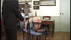 Two caned students