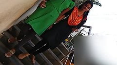 Desi candid bouncing boobs on stairs 4