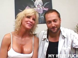 Watch my big breasts and me I am ready to watch my wife make me a cuckold