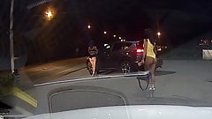 Nice Romanian Street Prostitute Shows Beautiful Ass