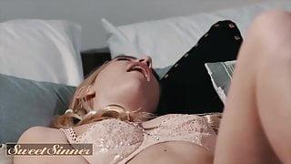BI Blonde Kenna James fucks Fiancees Brother - Sweet Sinner