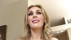 Seductive Busty Blonde Milf Fucks Stud