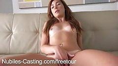 Nubiles кастуют застенчивых милашек в первом порно-прослушивании