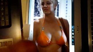 Kaley Cuoco jerk of cumvideo